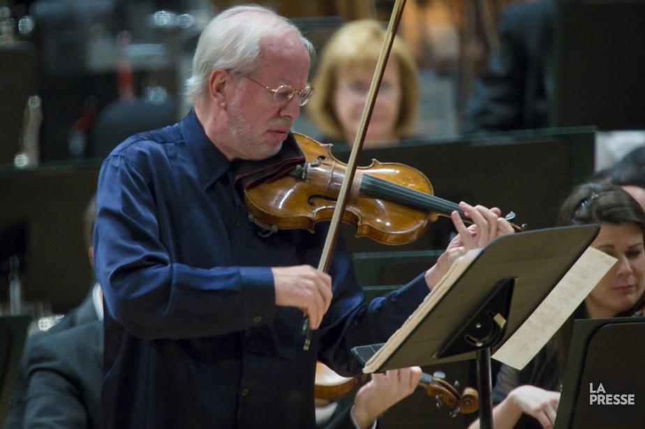 Le violoniste Gidon Kremer... (La Presse, André Pichette)