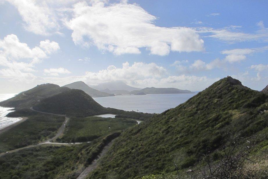 La pointe sud de l'île de Saint-Kitts laisse découvrir des paysages à couper le souffle. (Photo Marie-Eve Morasse, La Presse)