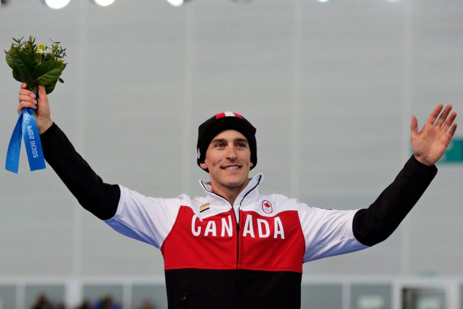 Le patineur canadien Denny Morrison (photo) doit une... (Photo Matt Dunham, AP)