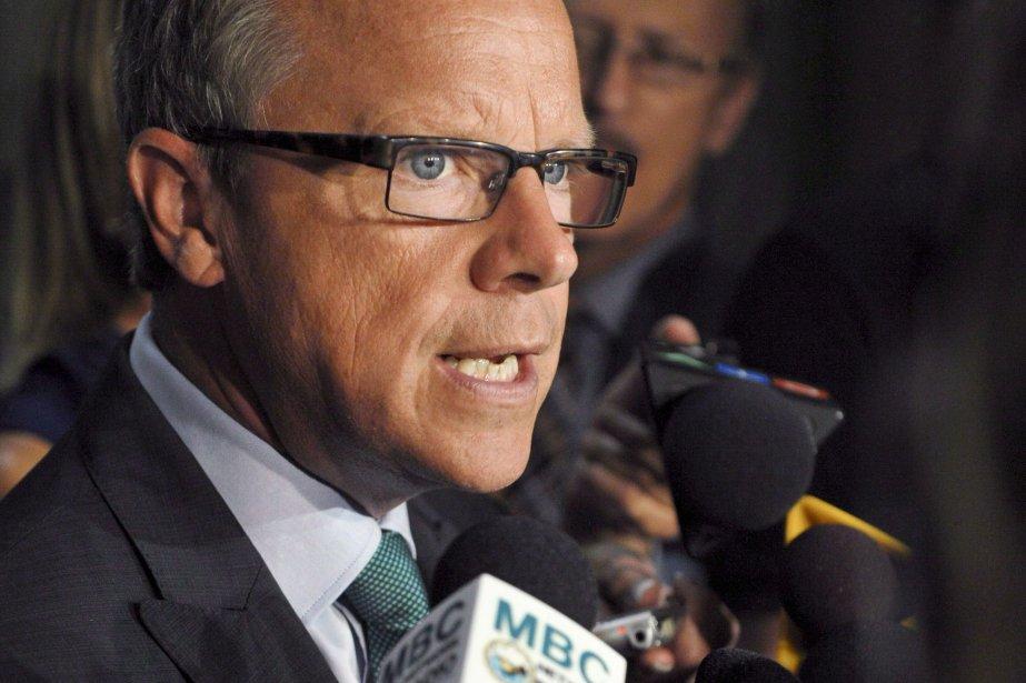 Si le premier ministre de la Saskatchewan, Brad... (Photo Michael Bell, PC)