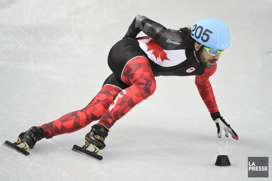 Médaillé d'or au 1500 mètres à Sotchi, Charles... (Photo Bernard Brault, La Presse)