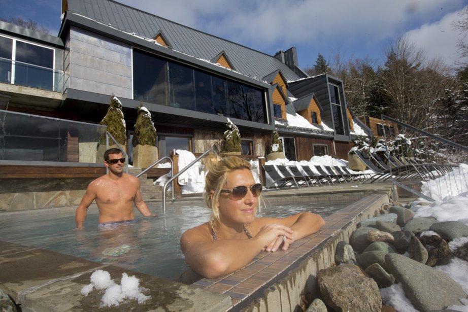 Le spa Balnéa est l'endroit idéal pour échapper au stress de la ville et se ressourcer. (Photo Alain Roberge, La Presse)
