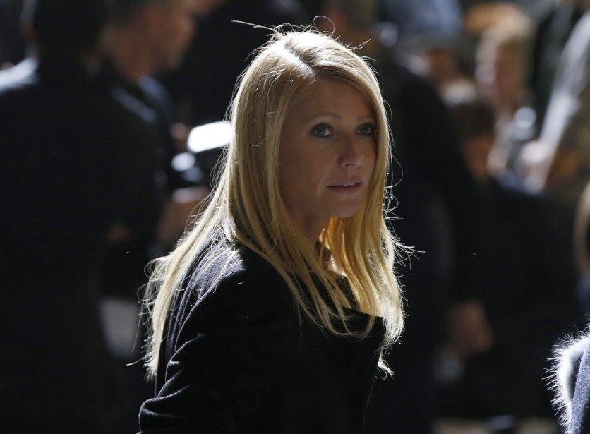 Gwyneth Paltrow au défilé de Jason Wu chez Boss pour femme (Photo Shannon Stapleton, Reuters)