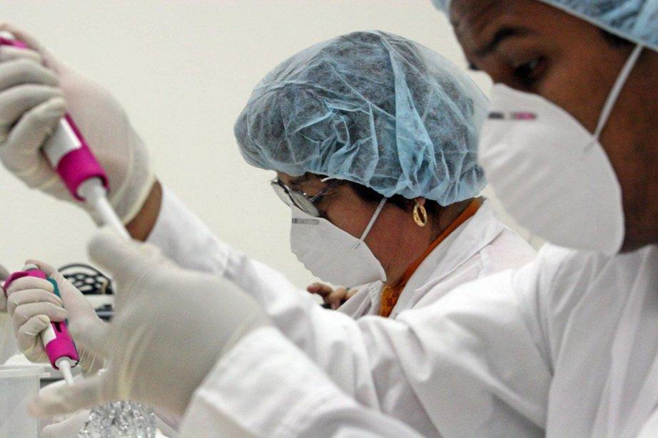 Les maladies infectieuses se font de plus en... (PHOTO JAIME RAZURI, Archives AFP)