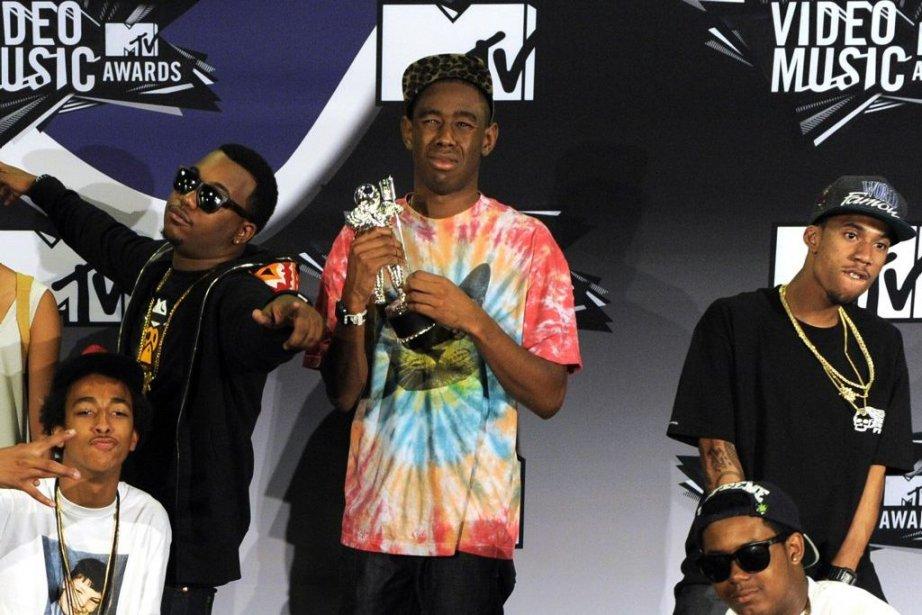 Le groupe Odd Future... (Photo: AP)