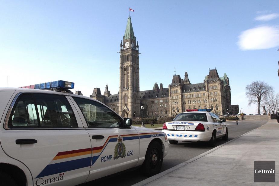 La Gendarmerie royale du Canada... (PHOTO ÉTIENNE RANGER, ARCHIVES LEDROIT)