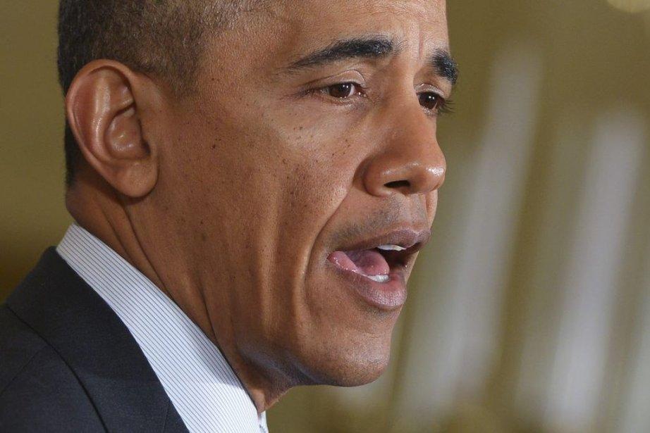 Barack Obama concède que la situation en Syrie... (PHOTO MANDEL NGAN, AFP)