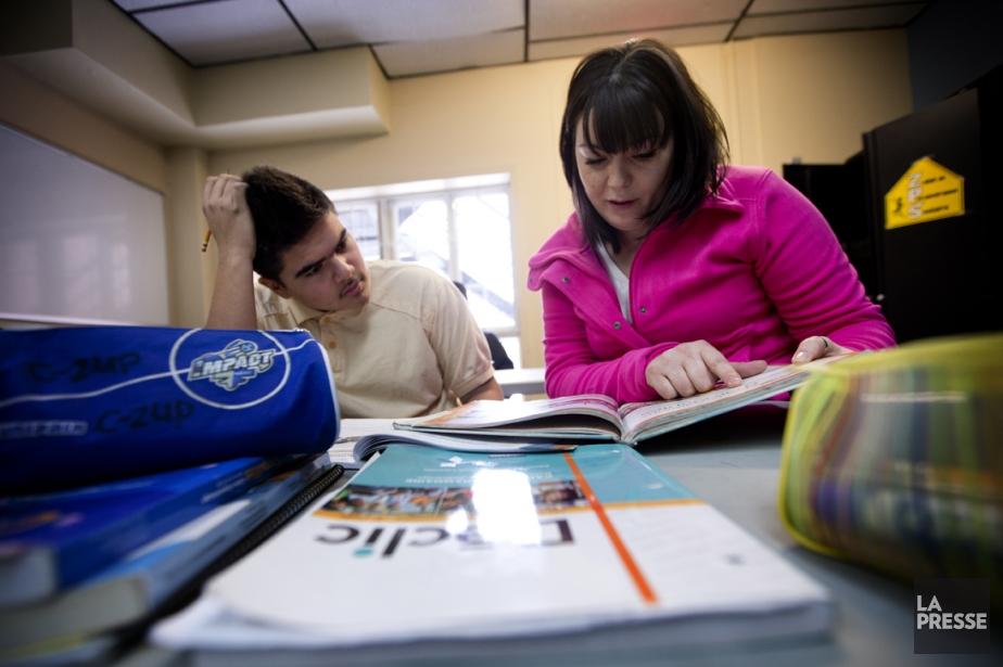 Sonia Gabriel, intervenante jeunesse au YMCA, donne une... (Photo Marco Campanozzi, La Presse)