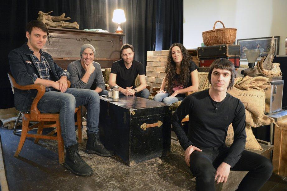 Dans le contexte où les groupes rock francophones... (Photo: Jeannot Lévesque, collaboration spéciale)