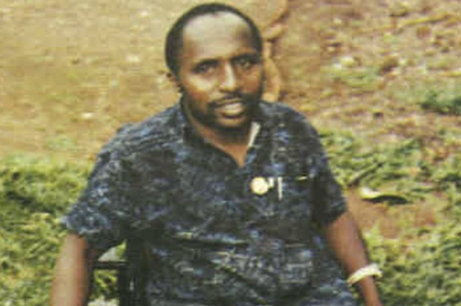 Pascal Simbikangwa sur une photo non datée et... (Photo Associated Press)