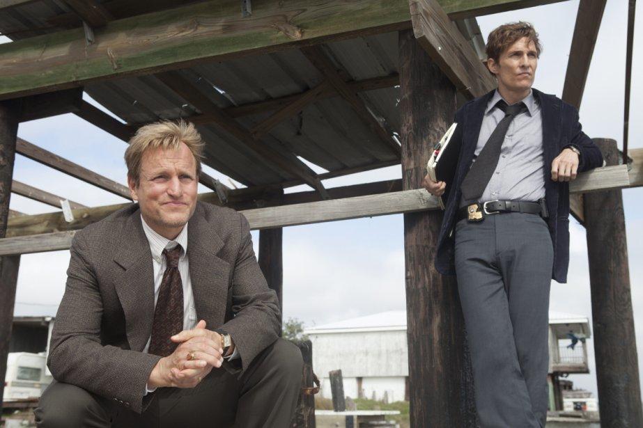Dans True Detective, Woody Harrelson (à gauche) campe... (Photo: fournie par HBO)