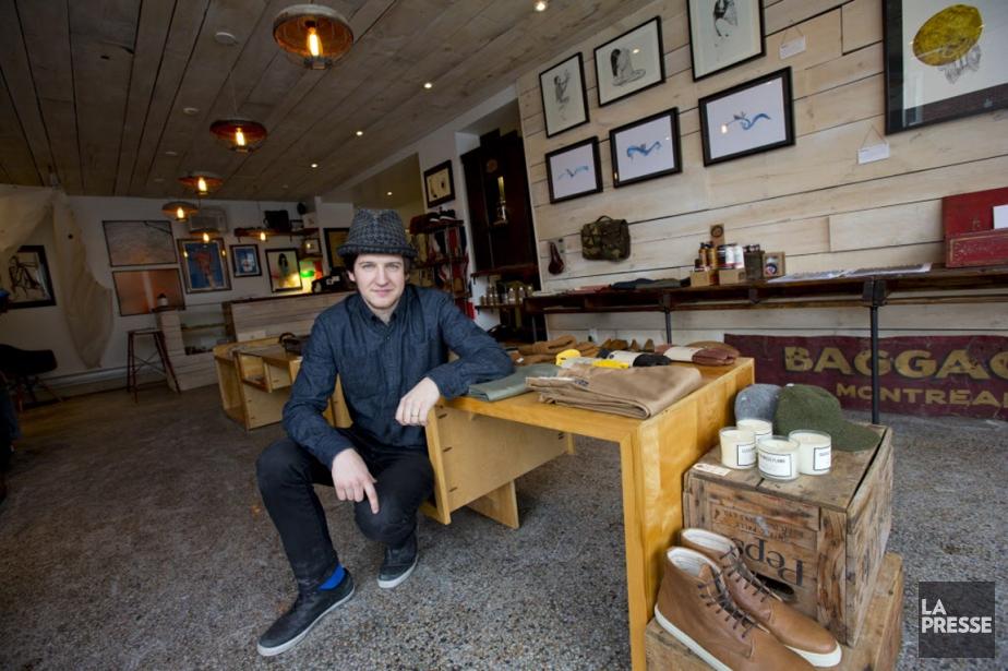 Chez Mercantile, les vêtements et accessoires viennent de... (PHOTO ALAIN ROBERGE, LA PRESSE)