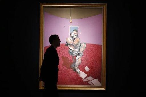 Portrait of George Dyer Talking de Francis Bacon... (Photo: Reuters)