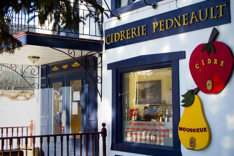Cidrerie des vergers Pedneault (Photo Sira Chayer, La Presse)