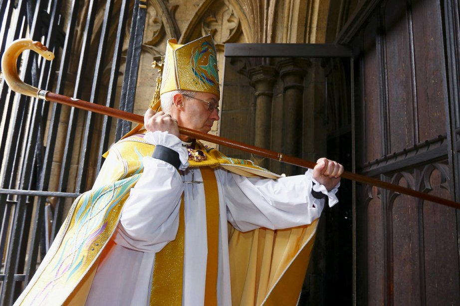 L'archevêque de Cantorbéry, Justin Welby, chef spirituel des... (Photo Chris Ison, archives Reuters)
