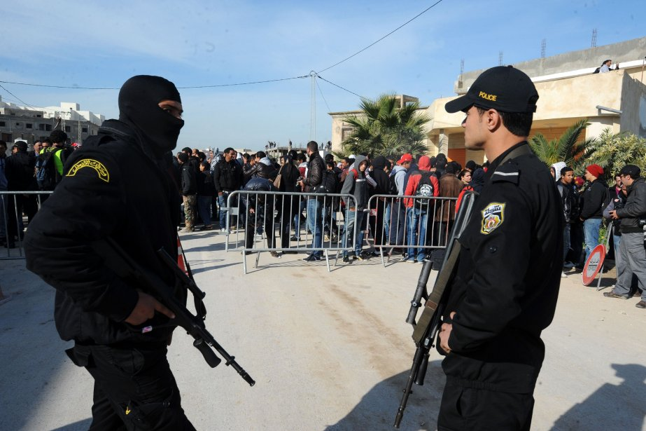 La Tunisie a connu un essor des violences... (Photo FETHI BELAID, AFP)