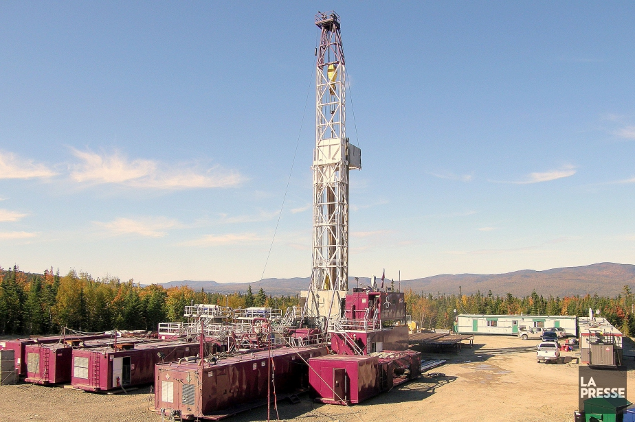 Le puits Haldimand-2, situé près de Gaspé, appartenant... (PHOTO ALAIN ROBERGE, ARCHIVES LA PRESSE)