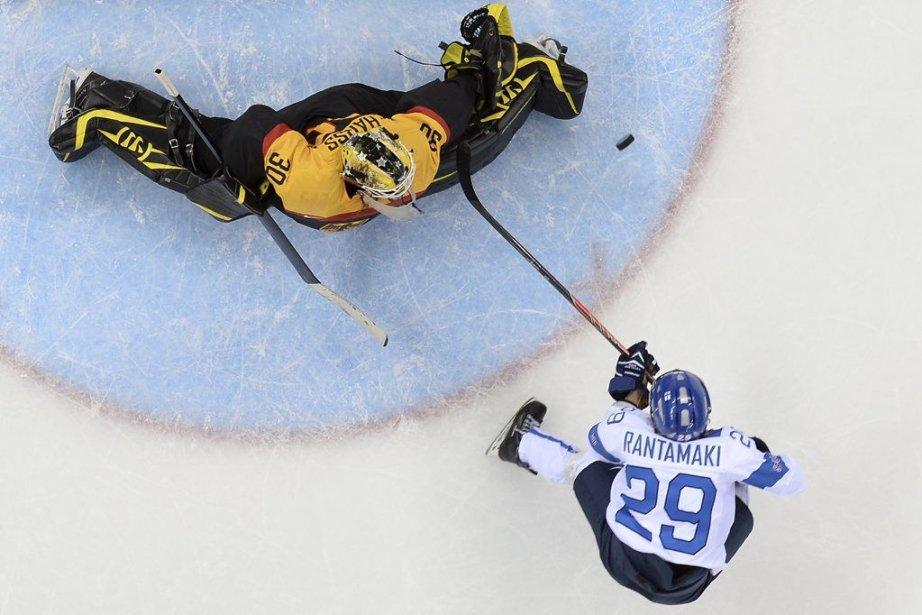 La Finlande s'est assurée de participer au match... (PHOTO JONATHAN NACKSTRAND, AFP)