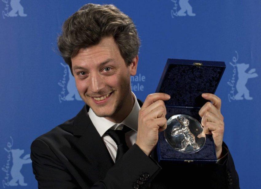 Guillaume Cailleau a été récompensé pour son court-métrage «Laborat». (PHOTO TIM BRAKEMEIER, AP)