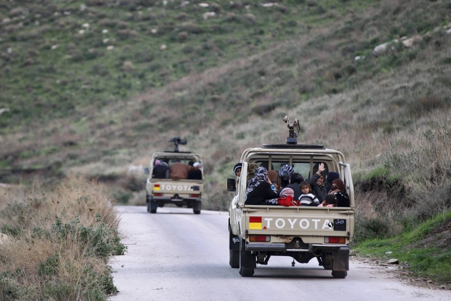 La Jordanie affirme que la contrebande à la... (Photo MUHAMMAD HAMED, Reuters)