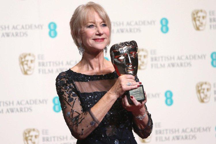 Helen Mirren,qui est titulaire de 11 nominations aux... (Photo: AP)