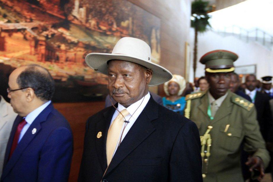 La semaine dernière, le président Yoweri Museveni (au... (PHOTO TIKSA NEGERI, ARCHIVES REUTERS)