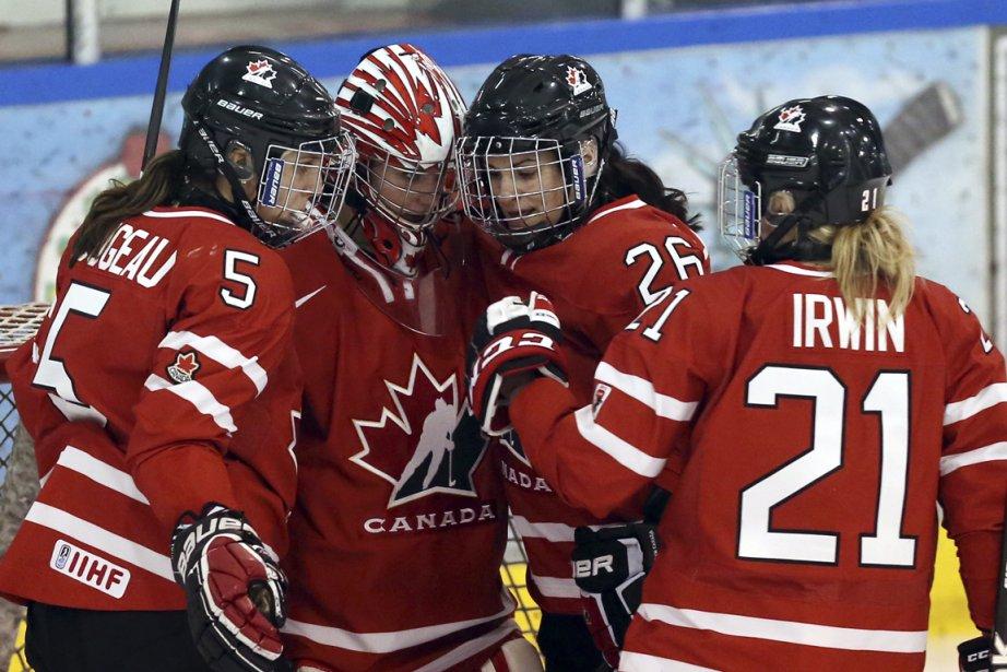 Journée de demi-finales aujourd'hui alors que les Canadiennes... (Photo Fred Chartrand, PC)