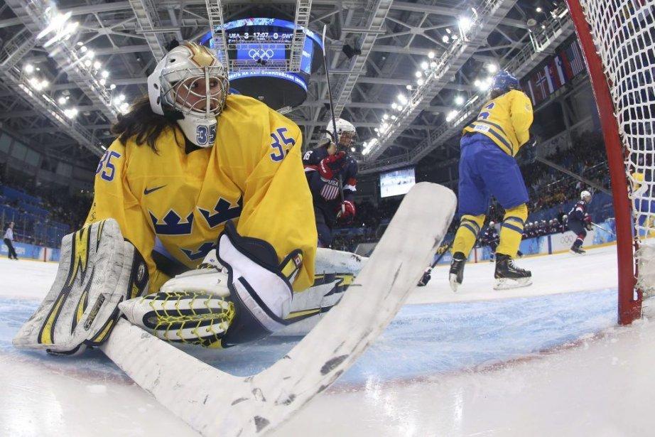 Les gardiennes suédoises Valentina Lizana Wallner (photo) etKim... (PHOTO BRUCE BENNETT, AFP)