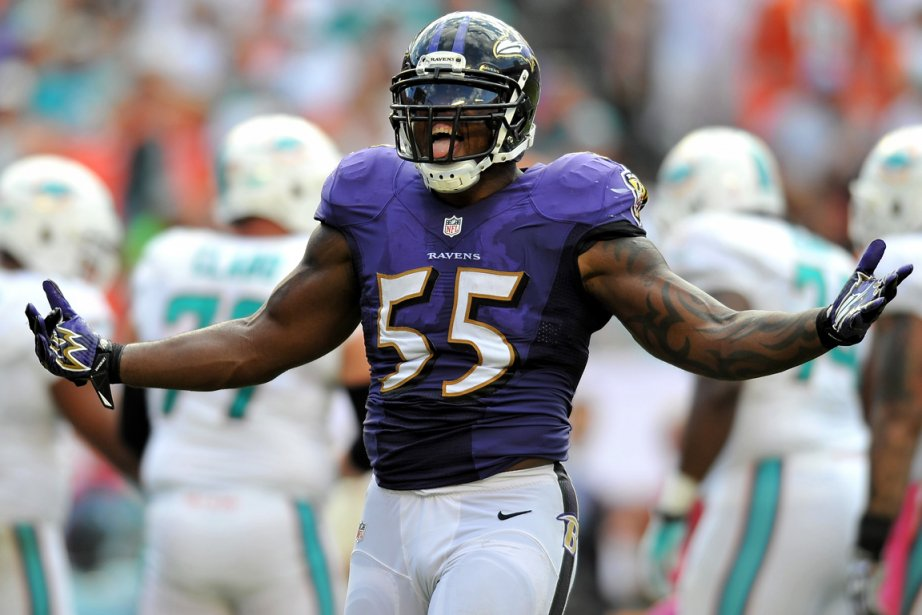 Terrell Suggs... (Photo Steve Mitchell, USA Today)