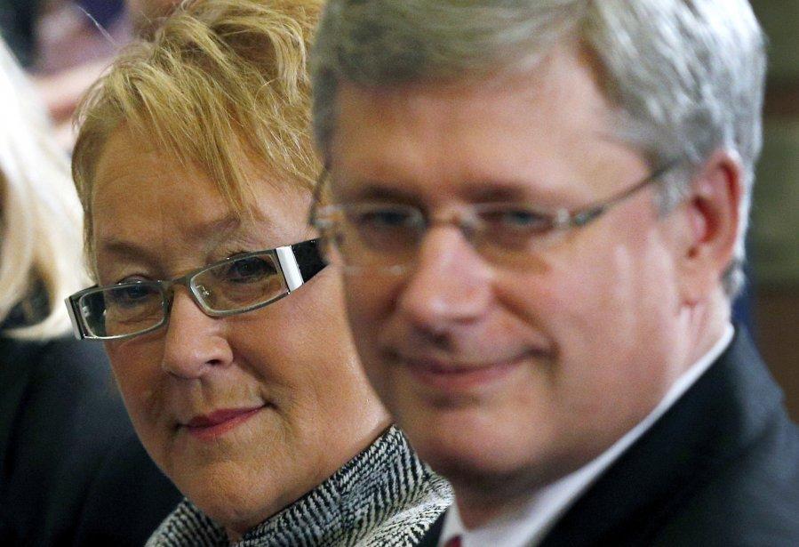 La première ministre du Québec, Pauline Marois, et... (Photo Mathieu Bélanger, archives Reuters)