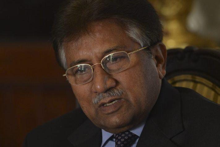 Pervez Musharraf en décembre 2013.... (PHOTO ARCHIVES AGENCE FRANCE-PRESSE)
