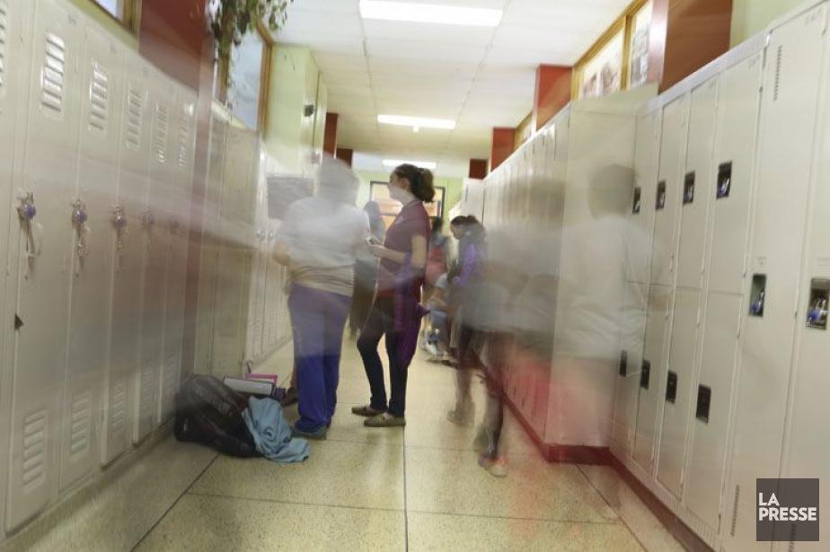 Plus un enfant est victime d'intimidation pendant... (Photothèque La Presse)