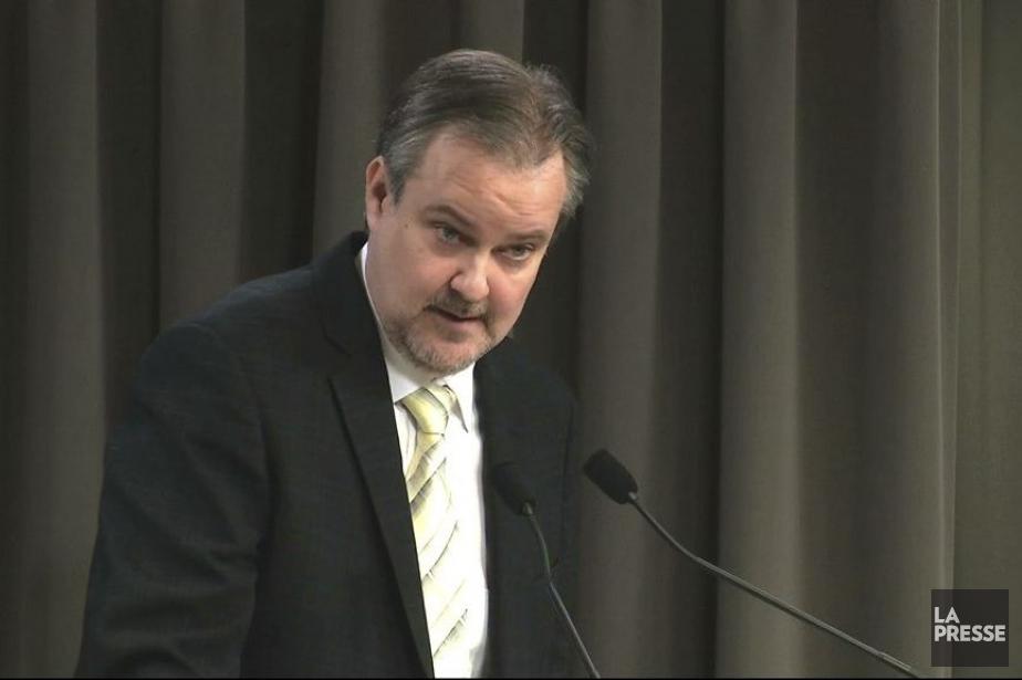 Denis Gallant à la commission Charbonneau.... (Photo archives La Presse)