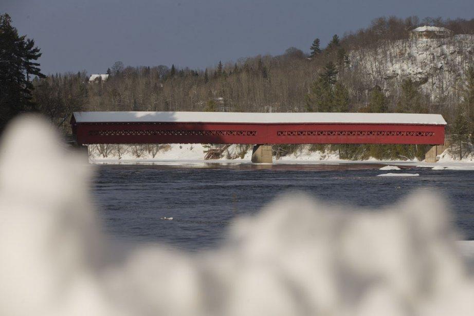 Le pont couvert est le symbole de Wakefield. (Photo Ivanoh Demers, La Presse)