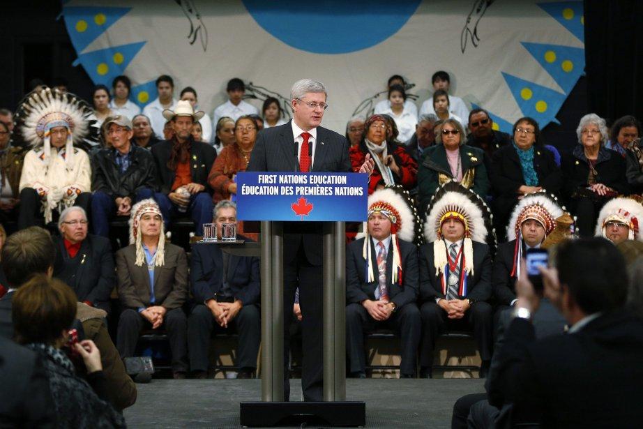 Ottawa prévoit fournir le financement pour l'éducation de... (Photo TODD KOROL, Reuters)