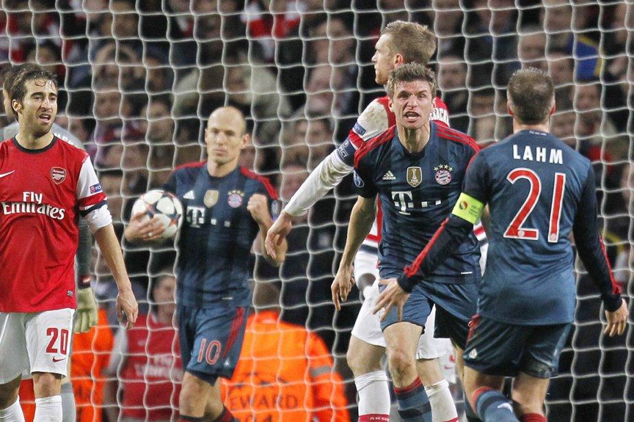 Le Bayern Munich a remporté une victoire de... (Photo Ian Kington, AFP)