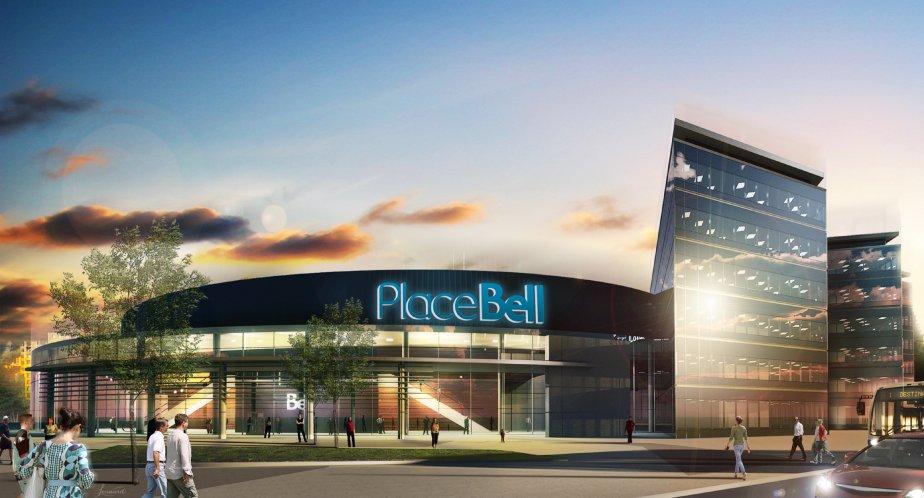 La Place Bell de Laval sera financée à... (Image fournie par la ville de laval)