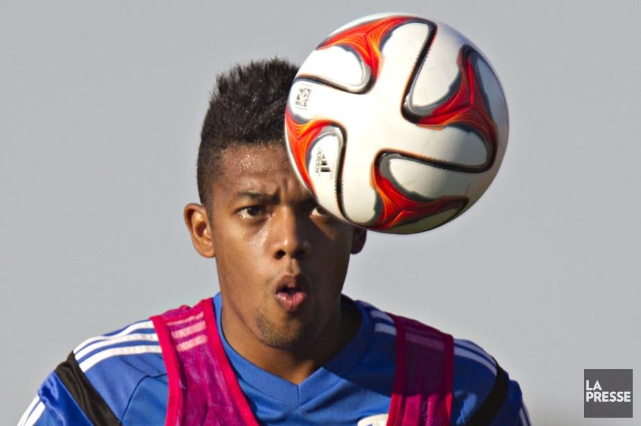 Le nouvel attaquant uruguayen de l'Impact, SantiagoGonzález, doit... (Photo Olivier Jean, La Presse)