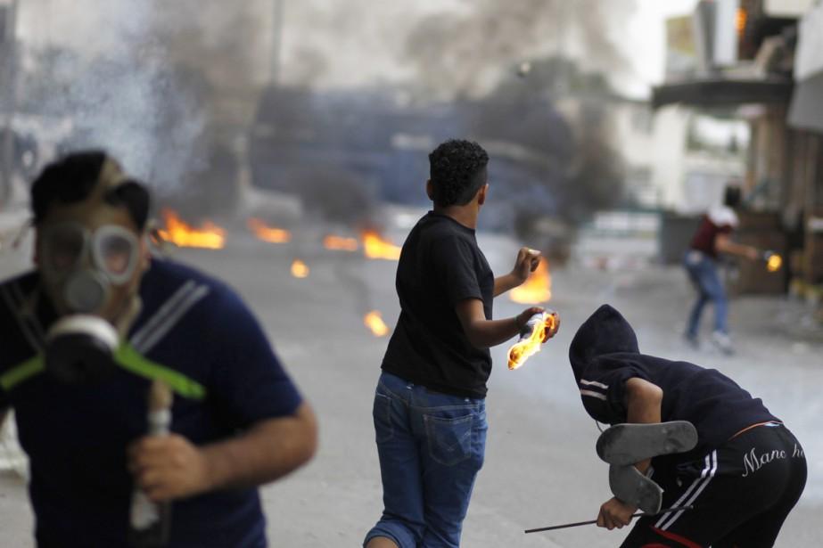 Les manifestations dans la province orientale, où se... (PHOTO HAMAD I MOHAMMED, ARCHIVES REUTERS)