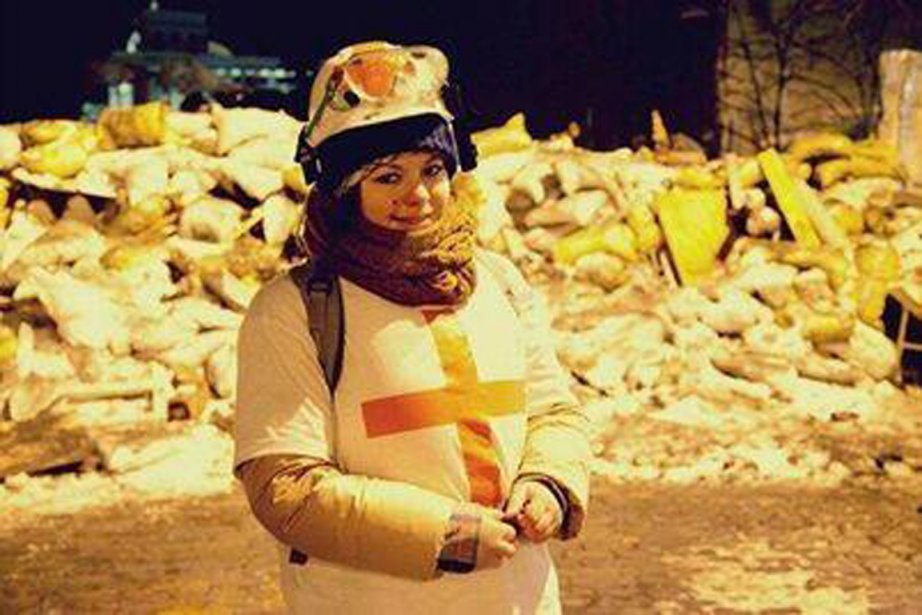 Olesya Zhukovskaya a annoncé sa mort sur son... (PHOTO TIRÉE DE TWITTER)