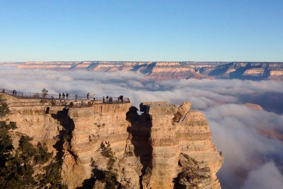 Attention à la température dans le Grand Canyon, en avril: prévoyez des vêtements chauds, il peut faire en dessous de 10°C... (Photo Erin Whittaker, Reuters)