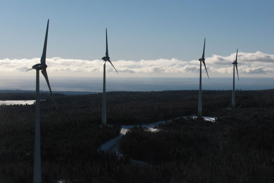 Des éoliennes deTransAlta au Québec... (Photo fournie par TransAlta)