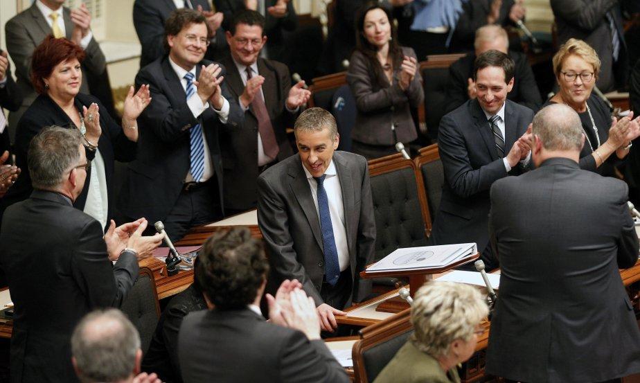 Le budget présenté hier par le ministre des... (PHOTO JACQUES BOISSINOT, LA PRESSE CANADIENNE)
