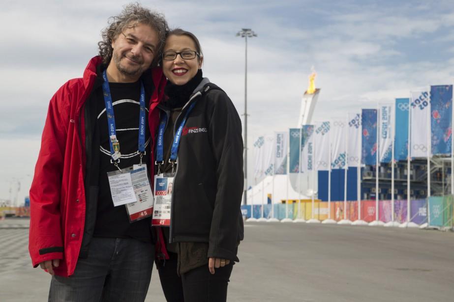 Les créateurs Daniele Finzi Pasca et Julie Hamelin... (Photo d'archives fournie par les artistes)