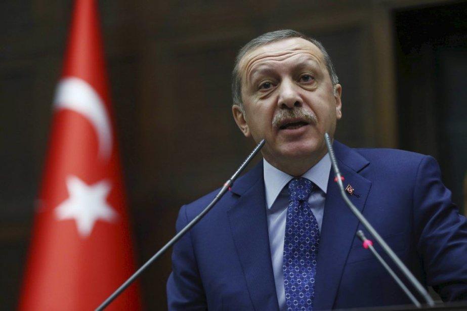 Le premier ministre Recep Tayyip Erdogan.... (Photo ADEM ALTAN, AFP)