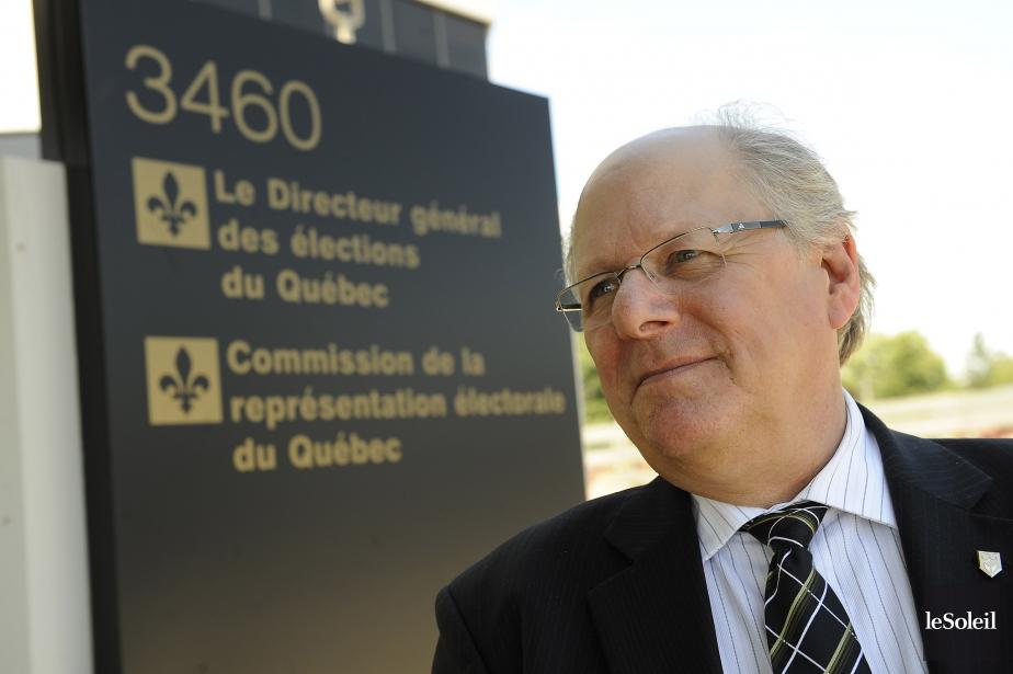 Le directeur général des élections, Jacques Drouin... (PHOTO PATRICE LAROCHE, LE SOLEIL)
