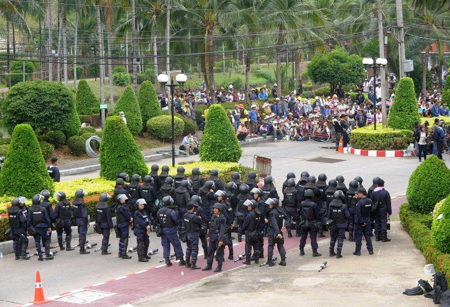 Les violences qui ont émaillé les manifestations ont... (Photo Manjunath KIRAN, AFP)