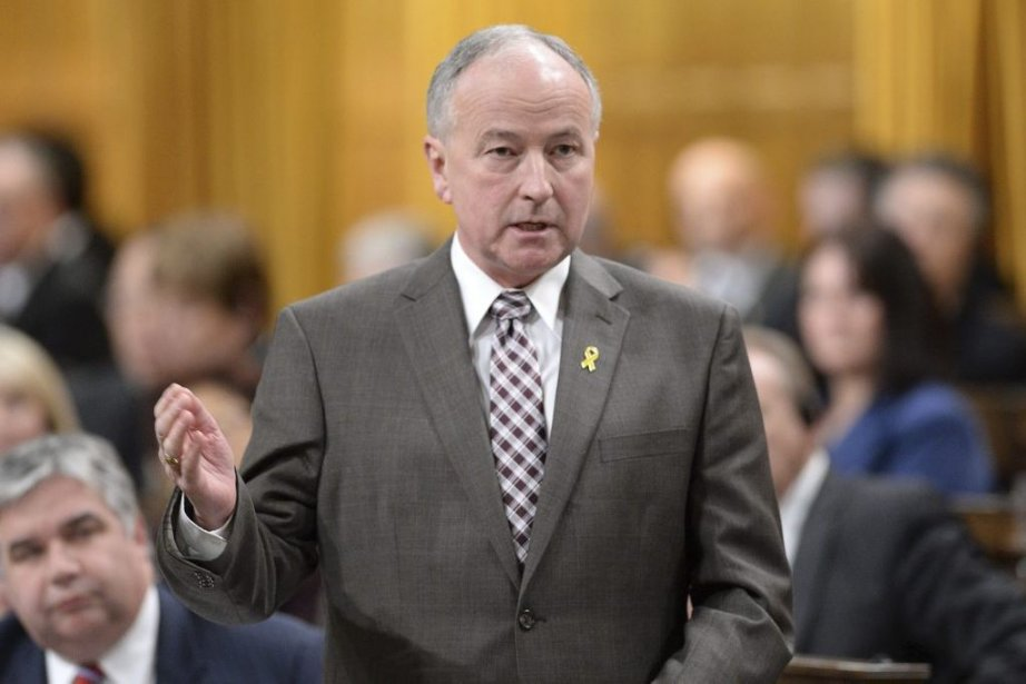 Rob Nicholson... (Photo La Presse Canadienne)
