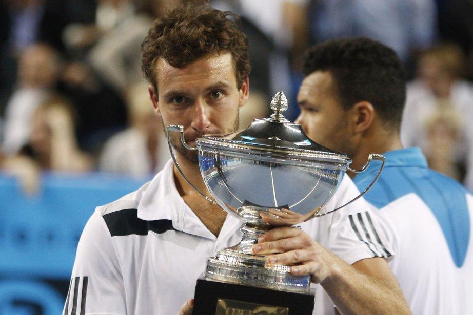 Le Letton Ernests Gulbis a remporté le tournoi... (Photo Philippe Laurenson, Reuters)