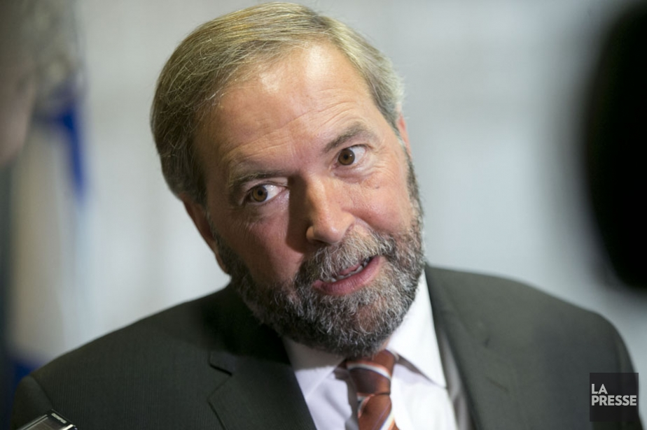 Le chef du NPD, Thomas Mulcair.... (Photo: La Presse)